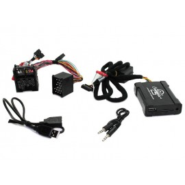 Interface USB, Carte SD, AUX