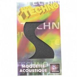 Moquette acoustique 140 x 75, Grise Boîte Techno