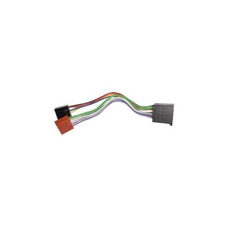 Prolongateur de faisceau auto radio ISO/ISO longueur 16 cm