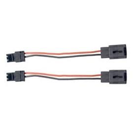 2 câbles de liaison -HP à connecteur Labinal jaune (depuis 1999)