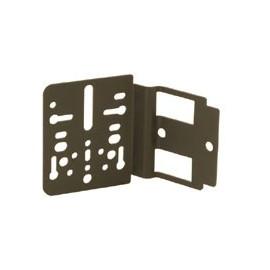 Support universel metal fixation sur côté d'une radio ISO / Décalage 10 mm
