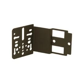 Support universel metal fixation sur côté d'une radio ISO / Décalage 35 mm