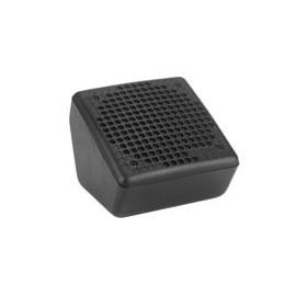 Boîtier avec grille pour HP Ø 13 cm