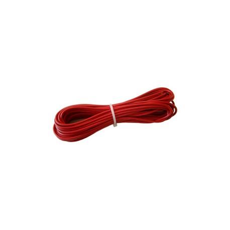 Câble d'alimentation 3 mm2, rouge, L: 5 m