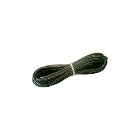 Câble d'alimentation 3 mm2, noir, L: 5 m