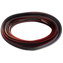 Câble d'alimentation HP 2 x 0,5 mm2 noir et rouge