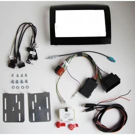 Kit d'intégration autoradio 2 DIN CITROEN FIAT PEUGEOT